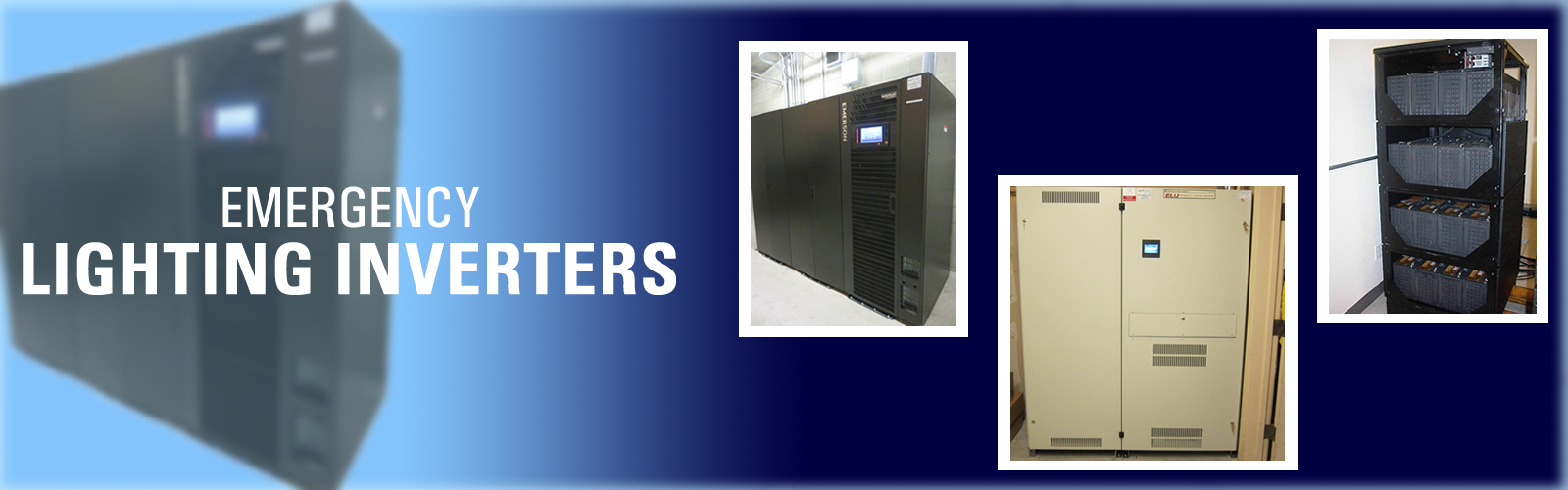 Emergency Lighting Inverters